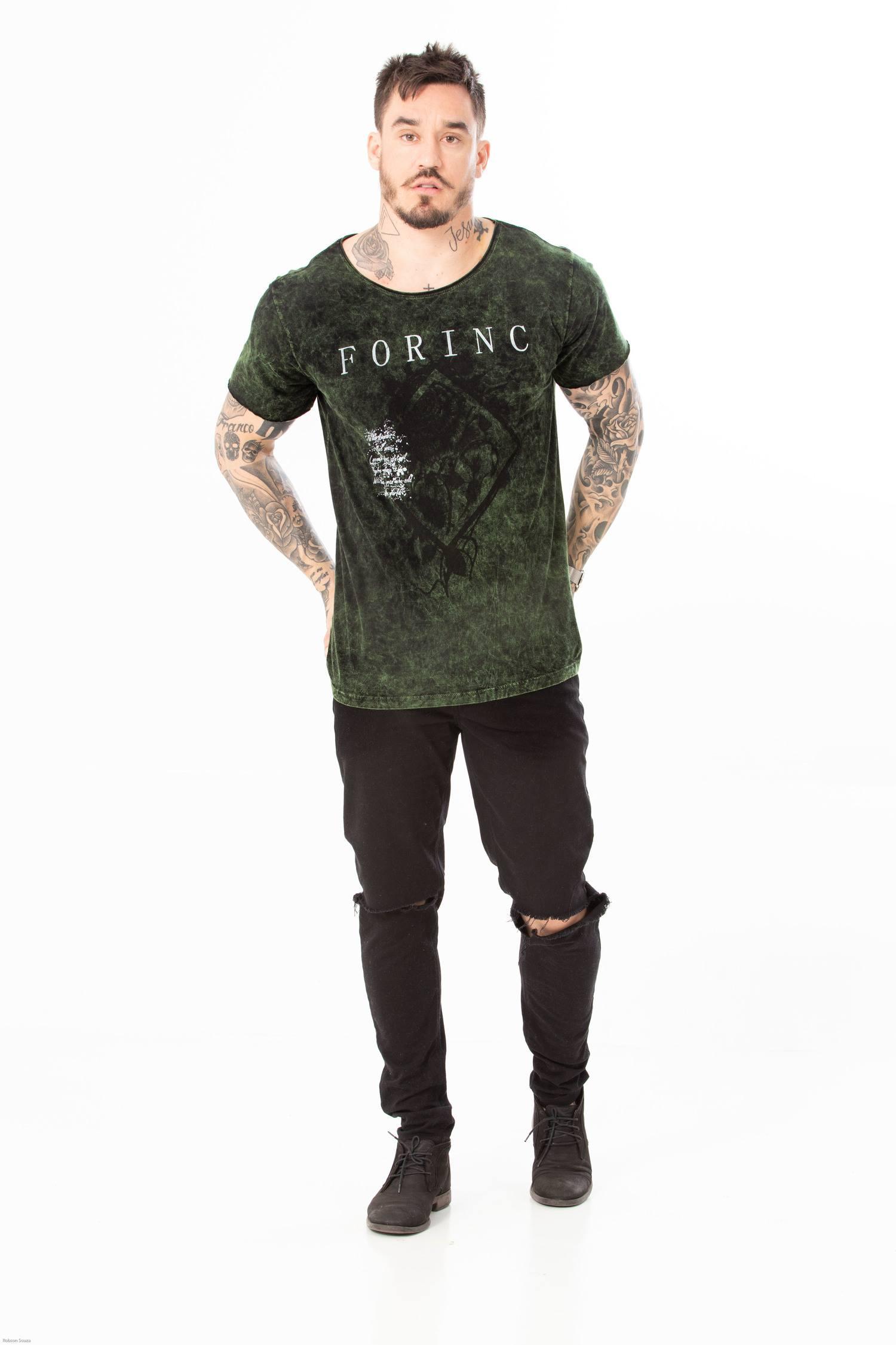 T-shirt Sky Green