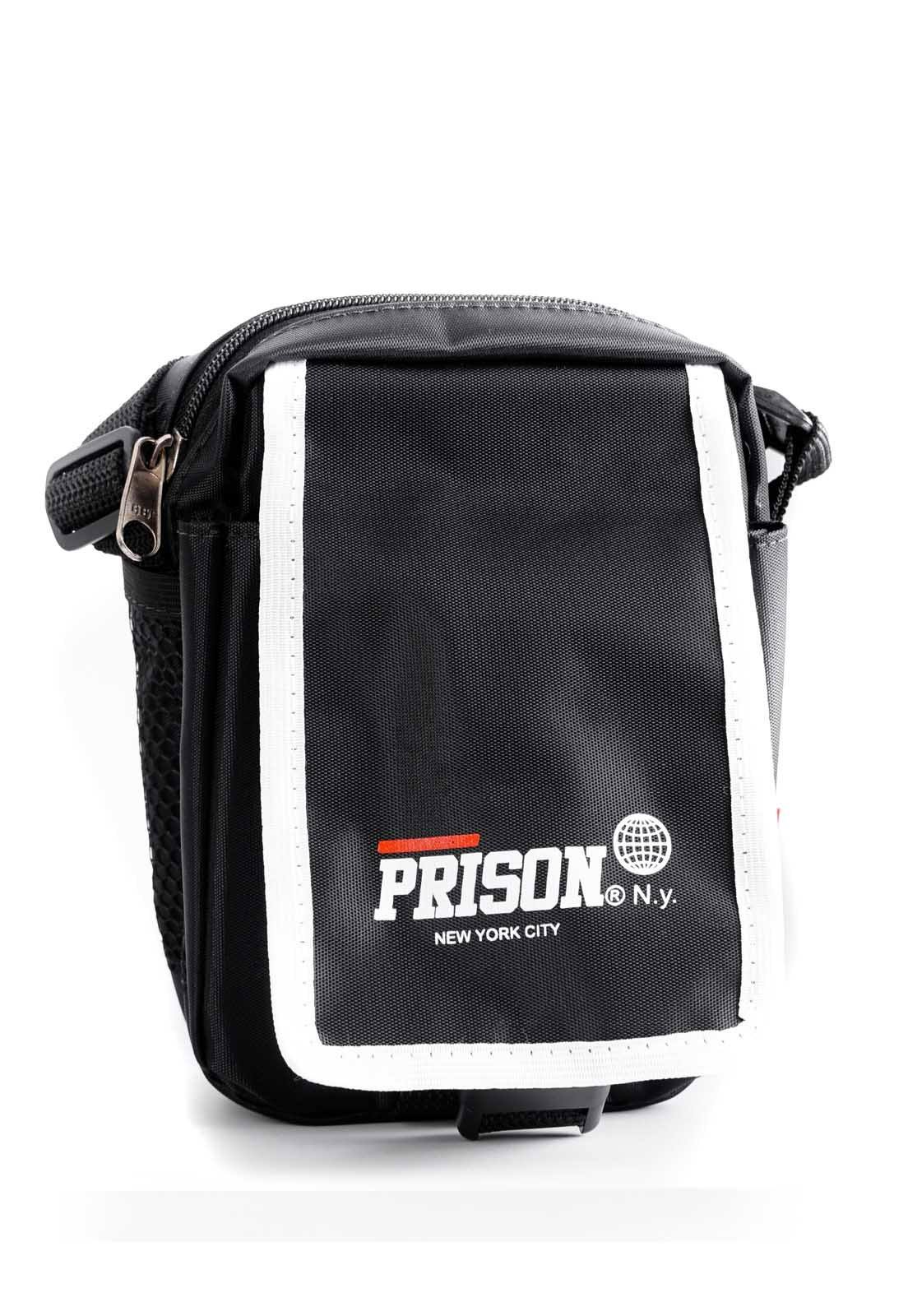 Shoulder Bag Prison White Line