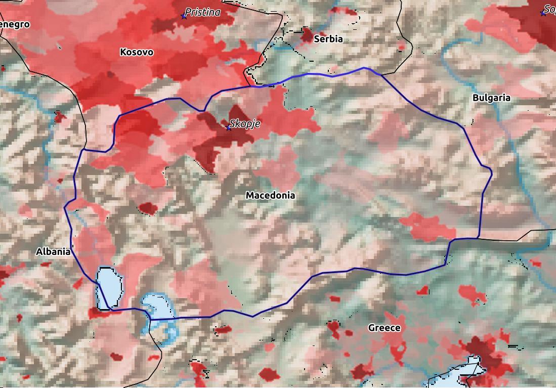 Macedonia Population 2019