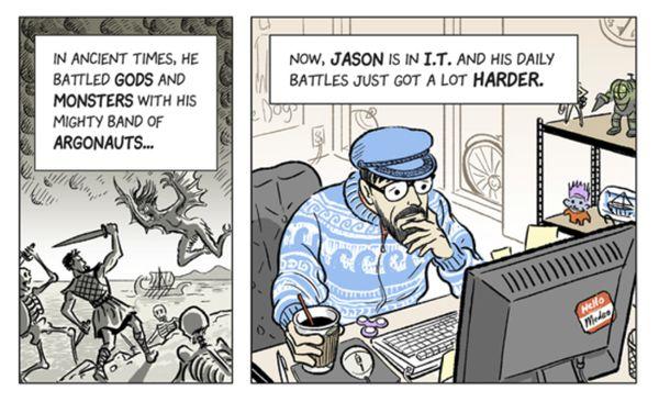 kubernetes comic