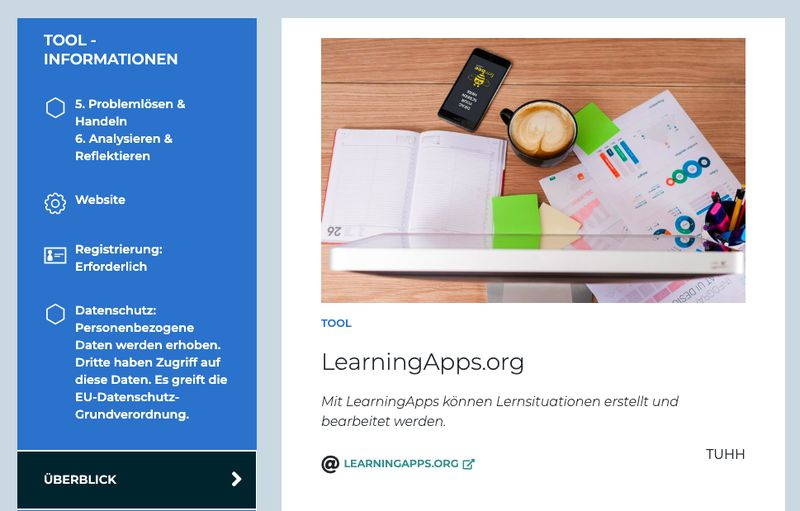 tools digital learning lab