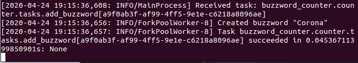 log worker pod - kubernetes development
