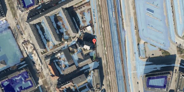 Ekstrem regn på Østbanegade 89, 1. , 2100 København Ø
