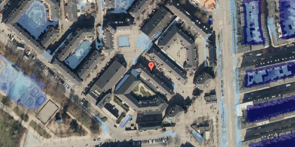 Ekstrem regn på Østerfælled Torv 29, 1. , 2100 København Ø