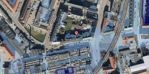 Ekstrem regn på Glentevej 10, 3. 8, 2400 København NV
