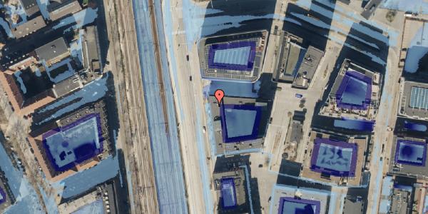 Ekstrem regn på Kalkbrænderihavnsgade 4D, 3. mf, 2100 København Ø