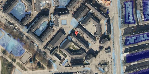 Ekstrem regn på Østerfælled Torv 31, 2100 København Ø