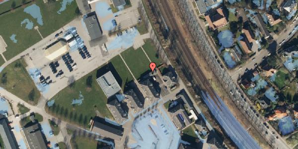 Ekstrem regn på Svanemøllens Kaserne 50, 2100 København Ø