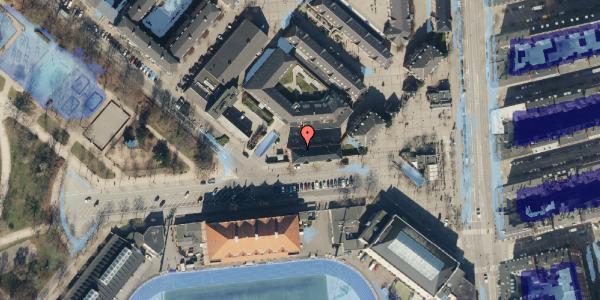 Ekstrem regn på Østerfælled Torv 7, st. , 2100 København Ø