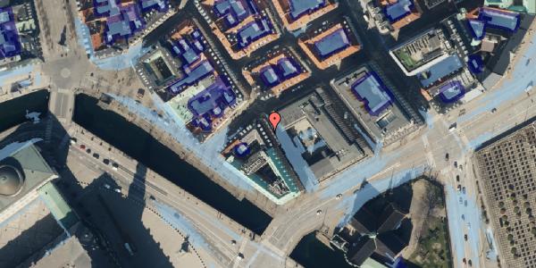 Ekstrem regn på Admiralgade 28, kl. , 1066 København K