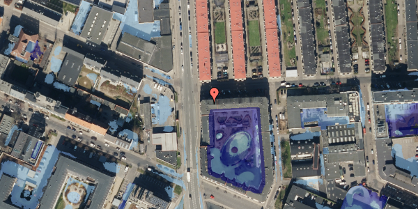 Ekstrem regn på Bisiddervej 2, st. 17, 2400 København NV