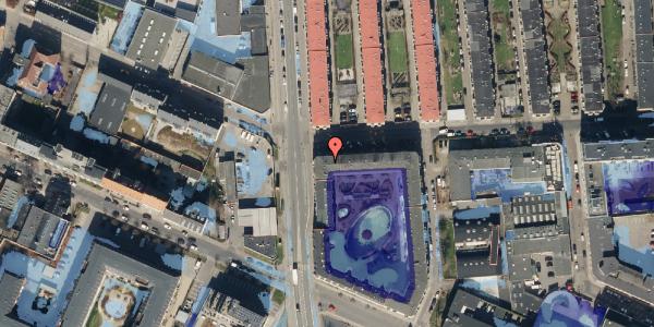 Ekstrem regn på Bisiddervej 2, 4. mf, 2400 København NV