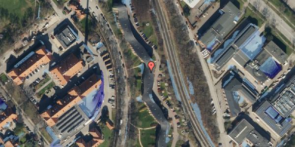 Ekstrem regn på Bispebjerg Bakke 22B, 2. th, 2400 København NV