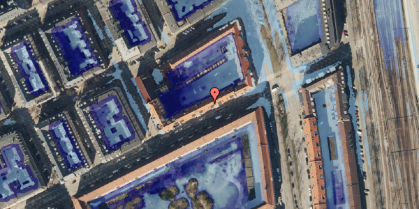 Ekstrem regn på Classensgade 63, 3. 1, 2100 København Ø