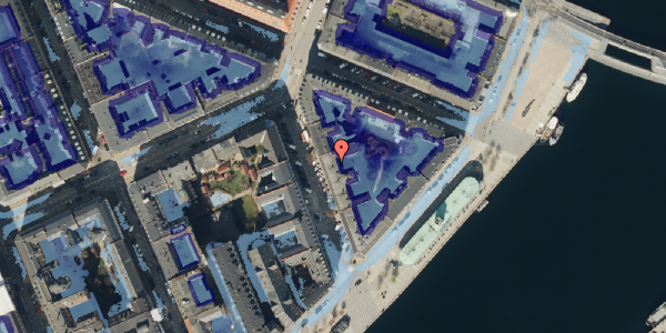 Ekstrem regn på Cort Adelers Gade 5, 1. th, 1053 København K