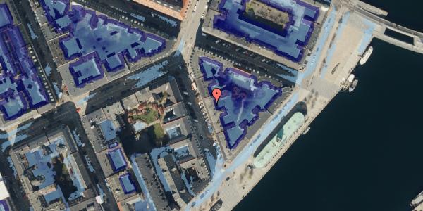 Ekstrem regn på Cort Adelers Gade 5, 4. tv, 1053 København K