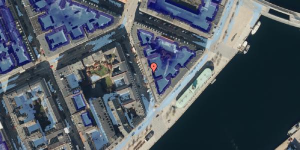 Ekstrem regn på Cort Adelers Gade 7, kl. , 1053 København K