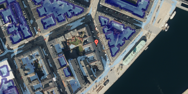 Ekstrem regn på Cort Adelers Gade 8, 1. 115, 1053 København K