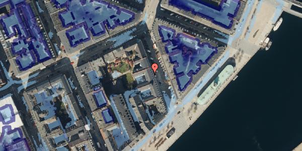 Ekstrem regn på Cort Adelers Gade 8, 3. tv, 1053 København K