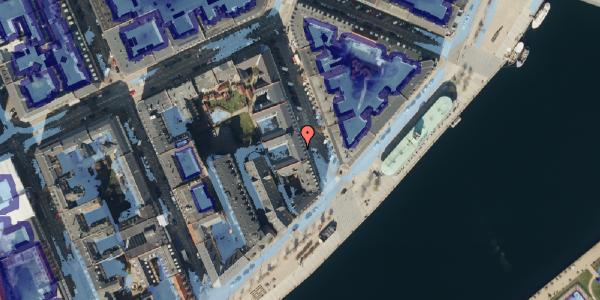 Ekstrem regn på Cort Adelers Gade 10, 1. 102, 1053 København K