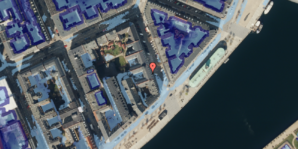 Ekstrem regn på Cort Adelers Gade 10, 1. 104, 1053 København K