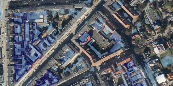 Ekstrem regn på Faksegade 18, st. th, 2100 København Ø