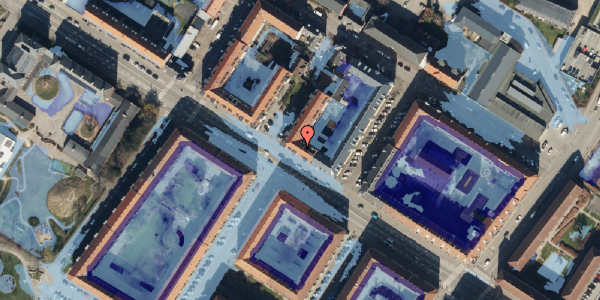Ekstrem regn på Frederikssundsvej 68A, 1. th, 2400 København NV