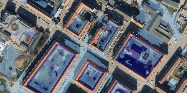 Ekstrem regn på Frederikssundsvej 68A, 3. th, 2400 København NV