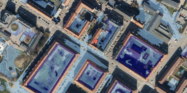 Ekstrem regn på Frederikssundsvej 68A, 3. tv, 2400 København NV