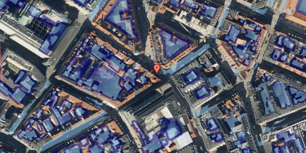 Ekstrem regn på Gammel Mønt 17, kl. th, 1117 København K