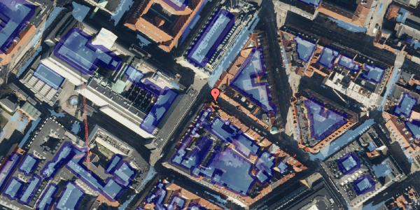 Ekstrem regn på Gammel Mønt 41, 2. th, 1117 København K