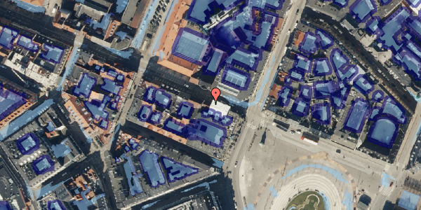 Ekstrem regn på Gothersgade 7, kl. , 1123 København K