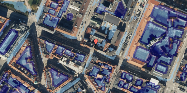 Ekstrem regn på Gothersgade 36, 2. , 1123 København K