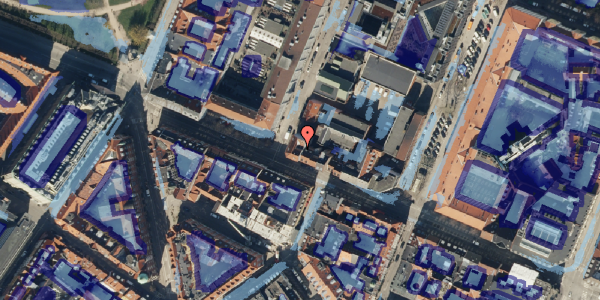Ekstrem regn på Gothersgade 42, 3. tv, 1123 København K