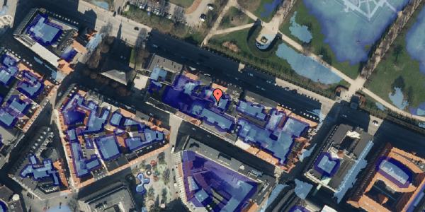 Ekstrem regn på Gothersgade 101C, 4. , 1123 København K