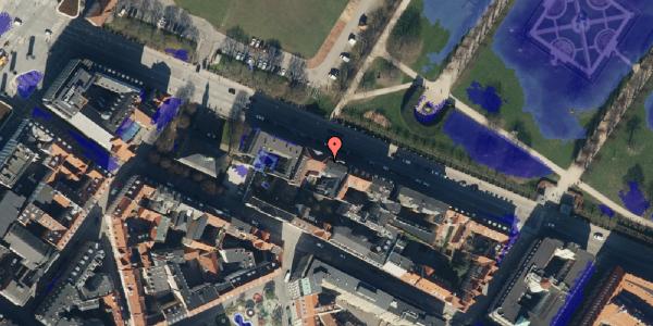 Ekstrem regn på Gothersgade 105, 2. th, 1123 København K