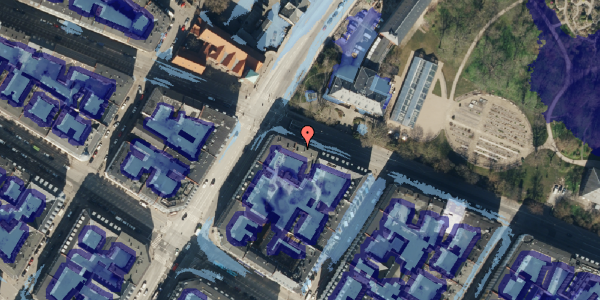 Ekstrem regn på Gothersgade 151, 3. tv, 1123 København K