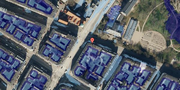 Ekstrem regn på Gothersgade 153, 4. , 1123 København K