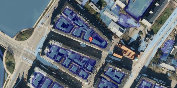 Ekstrem regn på Gothersgade 154, kl. tv, 1123 København K