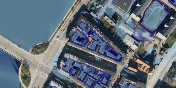 Ekstrem regn på Gothersgade 158A, 3. 4, 1123 København K
