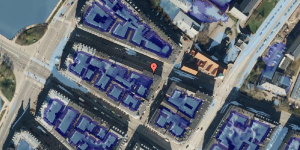 Ekstrem regn på Gothersgade 161, kl. tv, 1123 København K