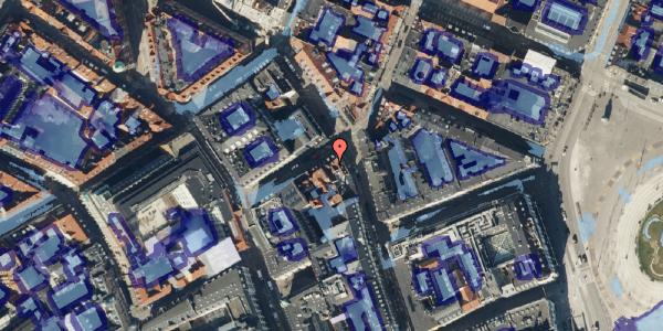 Ekstrem regn på Grønnegade 18, 3. , 1107 København K