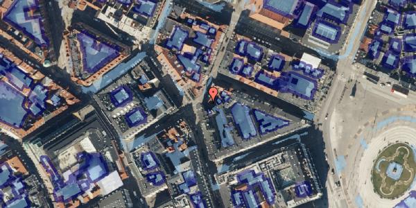 Ekstrem regn på Grønnegade 26, 3. , 1107 København K