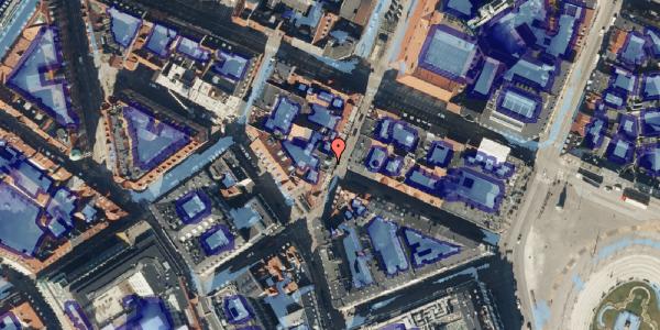 Ekstrem regn på Grønnegade 33, 3. , 1107 København K