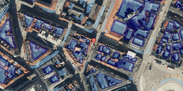 Ekstrem regn på Grønnegade 43, kl. , 1107 København K