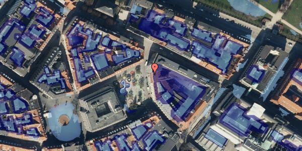 Ekstrem regn på Hauser Plads 18, 1. , 1127 København K