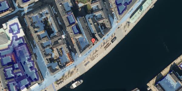 Ekstrem regn på Havnegade 37, 1. th, 1058 København K