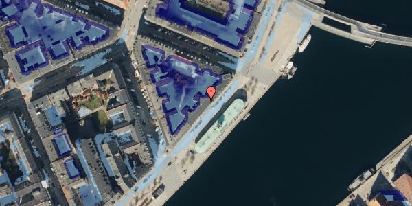 Ekstrem regn på Havnegade 47A, 3. , 1058 København K