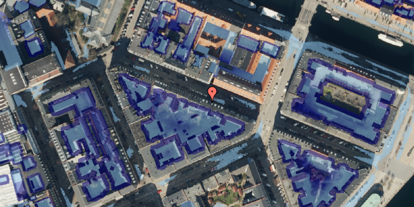 Ekstrem regn på Herluf Trolles Gade 16, 3. th, 1052 København K
