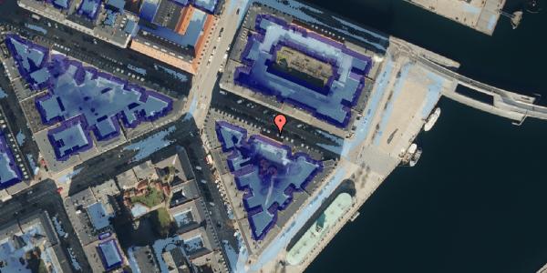 Ekstrem regn på Herluf Trolles Gade 24, 4. tv, 1052 København K